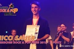 Die Ehrung beim Hessichen ROCK & POP Preis 2018